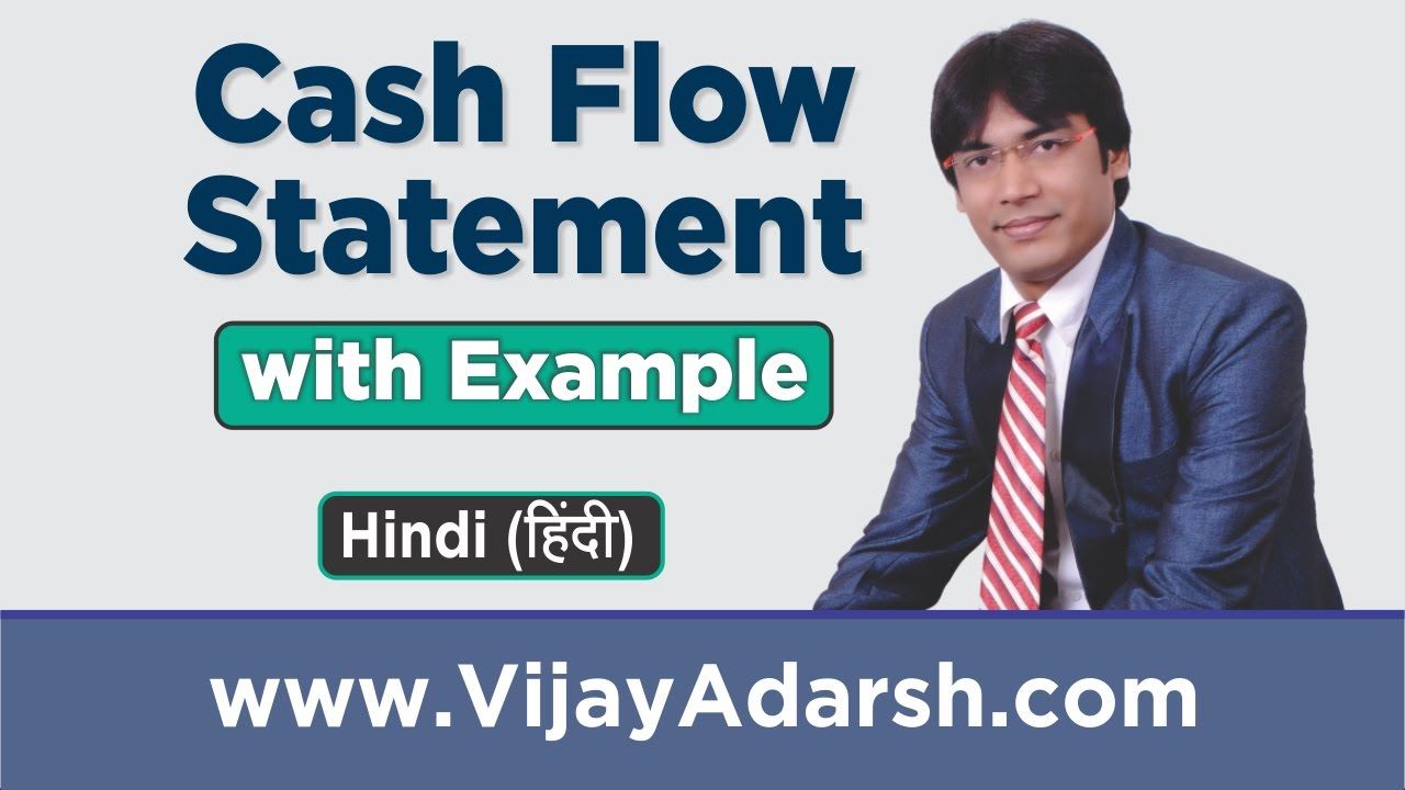 cash flow statement with example by vijay adarsh stay learning