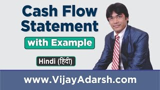 Cash Flow Statement with Example by Vijay Adarsh | Stay Learning | (HINDI)