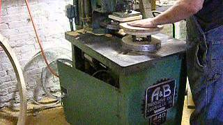 Chair Seat Shaper A&b Loc Drive Automatic Woodworking Rotary Shaper