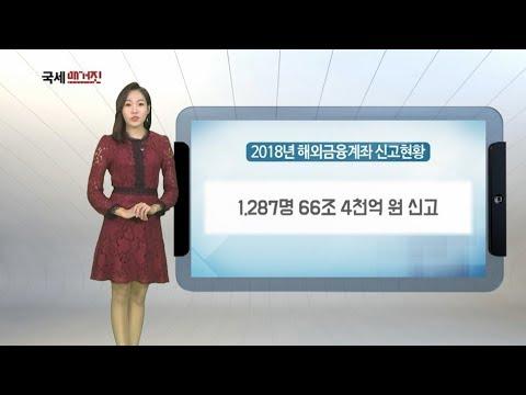 2018년 해외금융계좌 신고현황