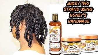 My Most Boring Protective Hairstyle for Hair Growth😁| First Impressions Review Honey's Handmade