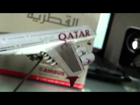 Gemini Jets Qatar Airways A380