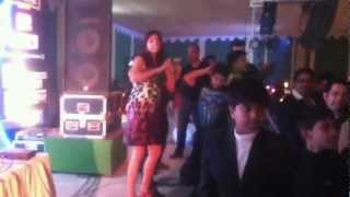 Indrani Haldar Sexy Dance at New Year Dhamaka party  at DSK 2013