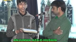 Anjuman Aza-e-Husain | Shab-e-Bimar-e-Karbala | 24th Moharram 1437 | Amhat Sultanpur