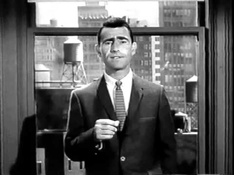 Rod Serling scares his actors