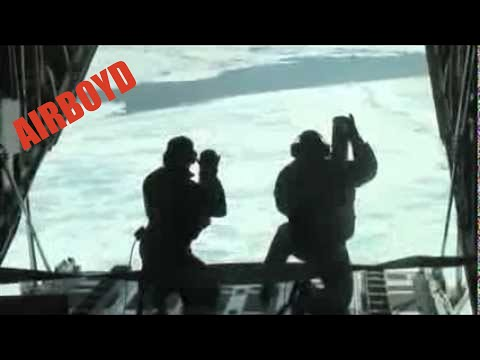 Arctic Domain Awareness HC-130 Hercules Flight