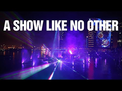 Dubai Festival City show Stardancer IMAGINE full show HD DFC