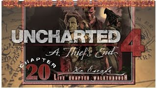Sex, Drugs and Uncharted 4   Chapter 20: No Escape (Crushing)   [REC.LIVE WALKTHROUGH HD]