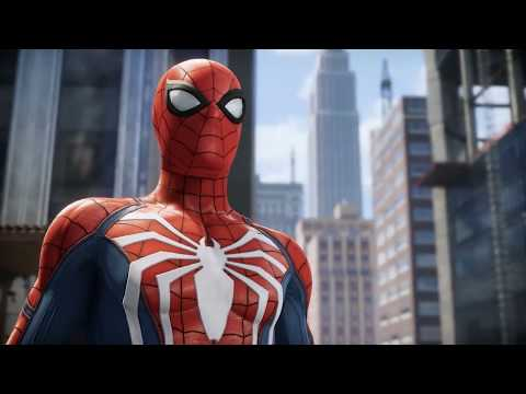 Marvel's Spiderman trailer ( Michael Buble Version )