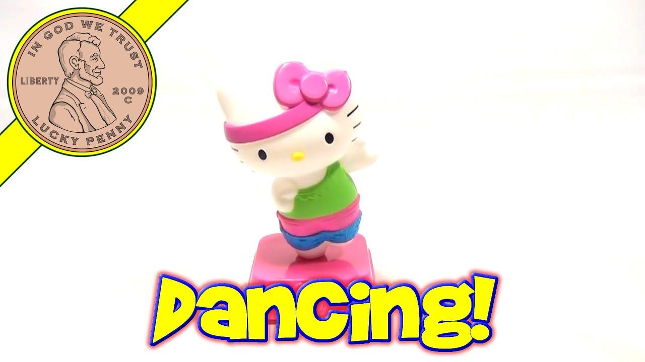 Uncategorized Dancing Hello Kitty hello kitty loves dancing 1 happy meal toy mcdonalds 2013 2013