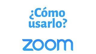¿como Se Utiliza Zoom?