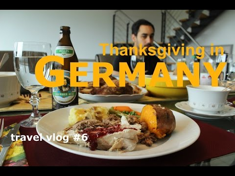 Thanksgiving in Bonn/Cologne [Germany] : Travel Vlog #6