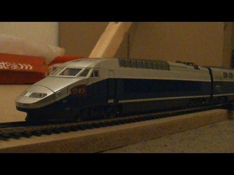 Jouef HJ2056 TGV 600 Reseau Duplex Model Train Pack (HO Scale) Review HD