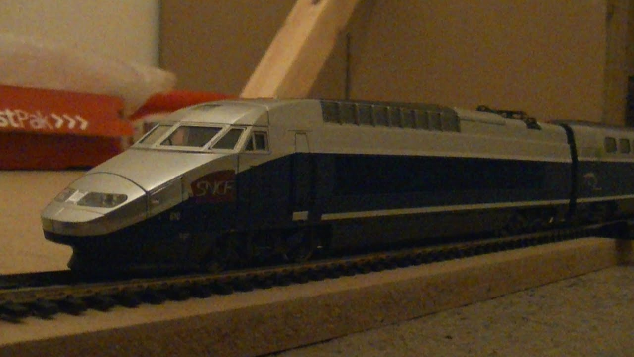 Jouef Hj2056 Tgv 600 Reseau Duplex Model Train Pack Ho Scale Review Hd