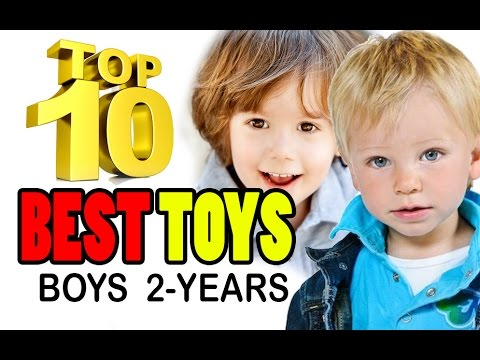 TOP 10 BEST TOYS FOR 2 YEAR OLD BOYS Educational Great FUN Toy Ideas