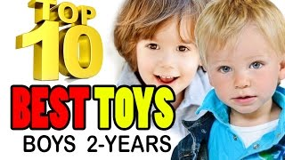 TOP 10 BEST TOYS FOR 2-YEAR-OLD BOYS Educational great FUN toy ideas | Beau