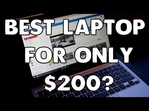 Best $200 Laptop: ASUS E200HA-US01 & It Games!!!