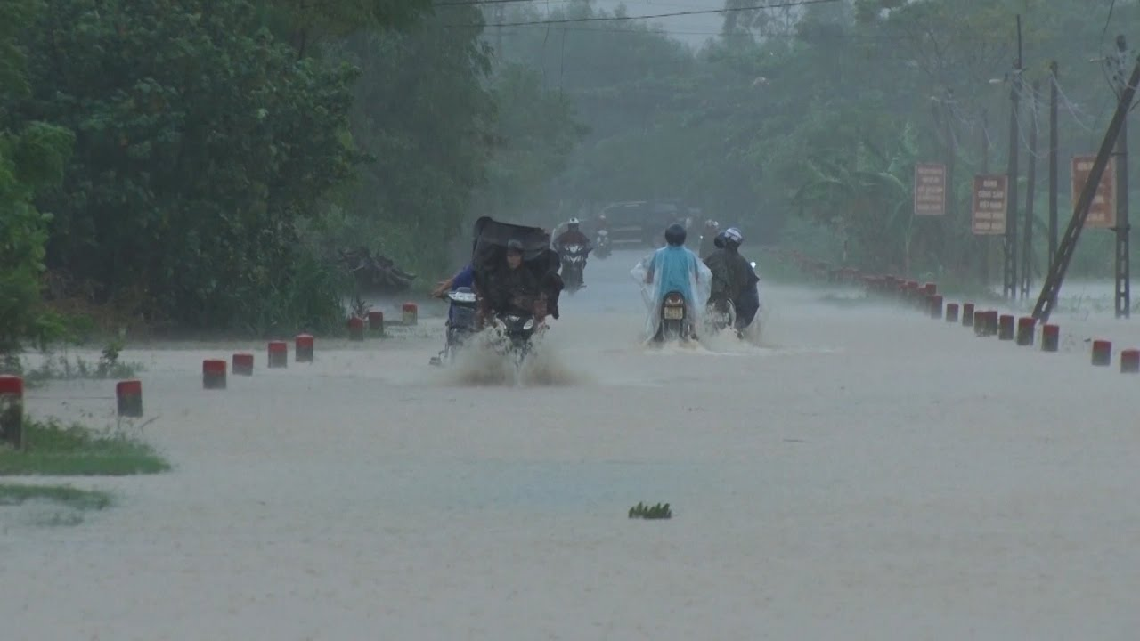 Tin Mưa Lũ Mới Nhất: Mưa lớn kéo dài ở Quảng Trị, nhiều nơi bị ngập cục bộ