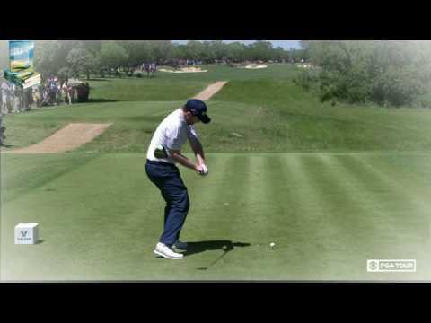 Branden Grace Golf Swing Super Slow Motion DTL Down the Line 2017