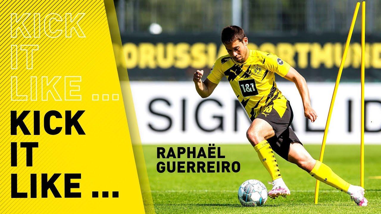 Kick it like Raphael Guerreiro | Name his trick