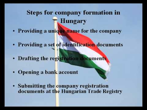 How to open a company in Hungary
