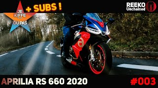 ⭐ APRILIA RS 660 2020 REVIEW...⭐ I LIKE... OR NOT 🔴REEKO Unchained