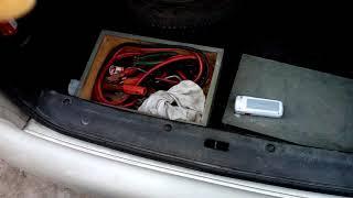Lanos - трудно открывается багажник с салона - РЕМОНТ.