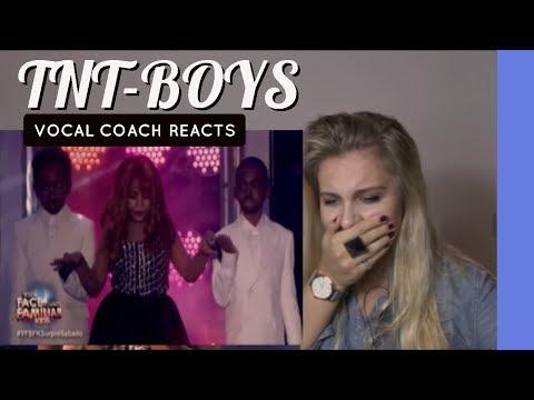 VOCAL COACH TNT Boys as Mariah Carey, Boyz II Men