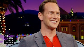 "Patrick Wilson Drops a Serious ""Well, Actually"" on James"