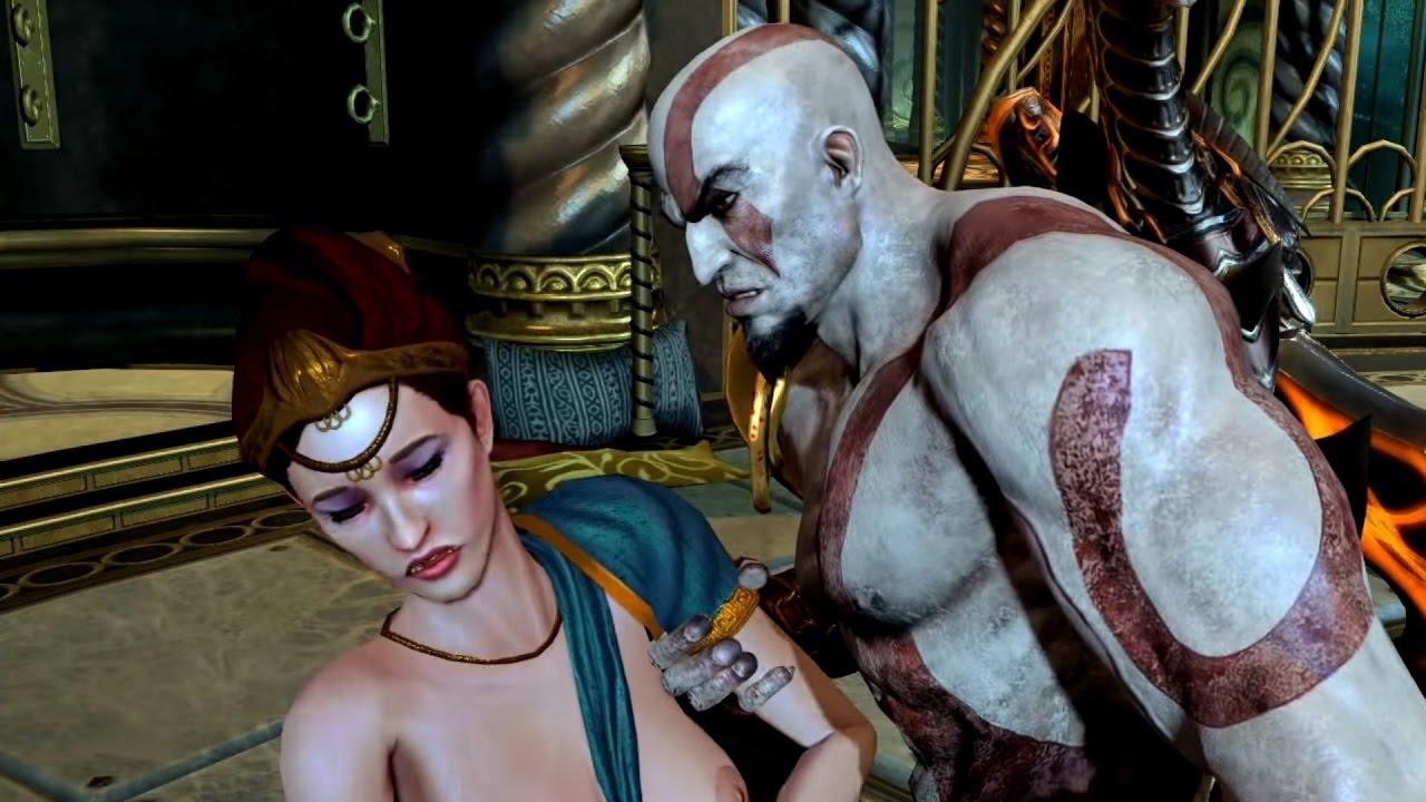 god of war ps4 sex mini game