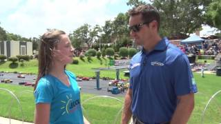 Make-A-Wish Kid Wins MINILAND 400 Race Against NASCAR Great Casey Mears