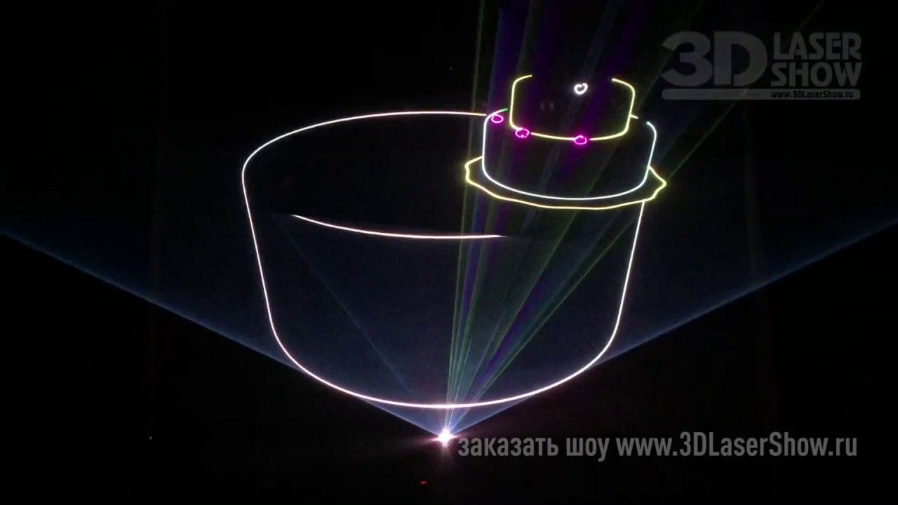Лазерное шоу PeterPen от 3DLaserShow
