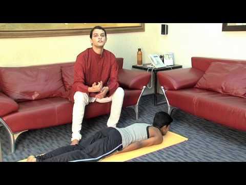 Ashtanga Yoga Shalabhasana & Vrishchikasana Variations ...