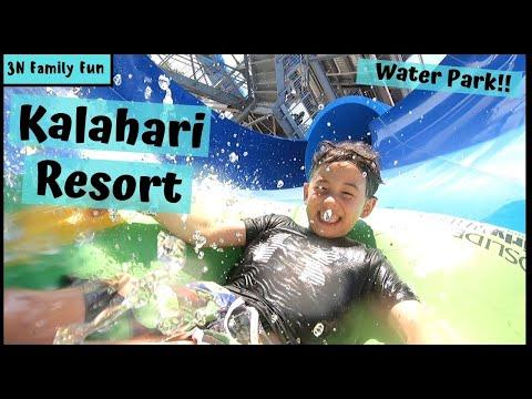 KALAHARI RESORT | Sandusky Ohio | BEST WATER PARK!!!!