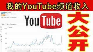 我的YouTube频道广告收入大公开,经营一年多的时间,只要坚持输出原创视频,付出一定有收获|蓝视星空第162期 thumbnail