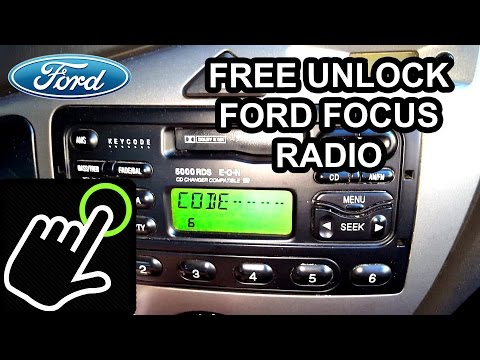How To get UNLOCK Code for FREE – Ford Focus Radio 5000/6000 RDS – PART 1