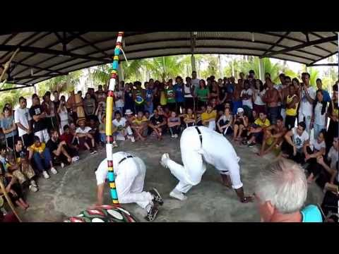 Mestre Jogo De Dentro and Mestre Cabelo [HD] Capoeira Angola Capoeirando 2012