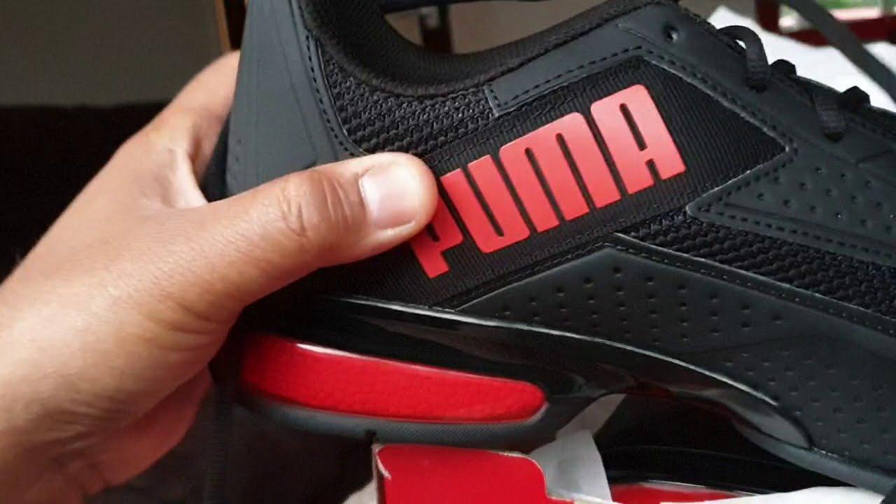 Puma Leader VT snr black/red#trainers#shoes#pumashoes