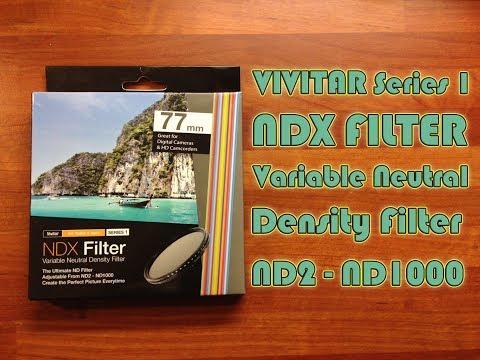 Vivitar Series 1 NDX Filter Variable Neutral Density Filter 77mm // Videography test