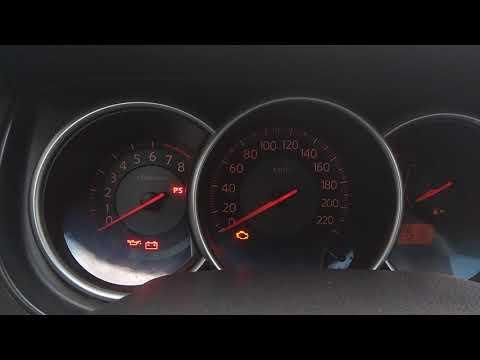 Сброс ошибки Nissan Tiida C11 2008