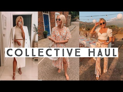 COLLECTIVE SUMMER TRY ON HAUL 2019 | H&M, ZARA, TOPSHOP & MATALAN | Ruby Holley