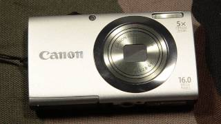 Как снимать видео. Canon PowerShot A2300 как камера для видеоблога.