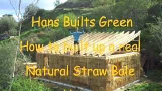 """Hans van Dam """"How to build a real straw bale house"""""""