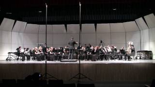 "East River High School Symphonic Band at District MPA - ""Circus Days March"""