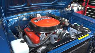 1968y dodge charger idle