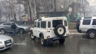 Potera za razbojnicima u Novom Pazaru. Povređen policajac