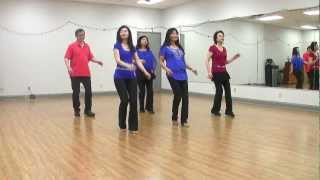 It's In The Stars - Line Dance (Dance & Teach in English & 中文)
