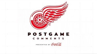 Detroit Red Wings Coca-Cola Post Game Comments | 3/10 CAR