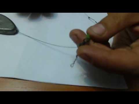 Изготовление оснастки для закидушки на стерлядь - YouTube