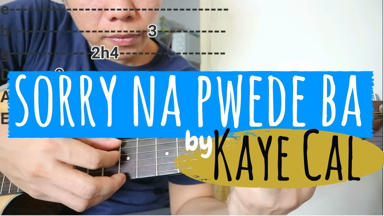 How to play sorry na parokya ni edgar (guitar tutorial) chords.